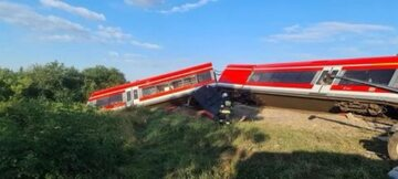 Pociąg wykoleił się w Kołbaskowie
