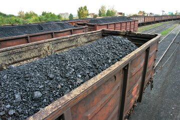 Pociąg z węglem