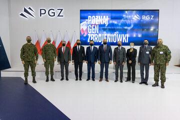 Podpisanie umowy na budowę systemu obrony powietrznej Narew