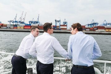 Podpisanie umowy na rozbudowę portu kontenerowego