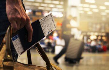 Podróż lotnicza, zdjęcie ilustracyjne
