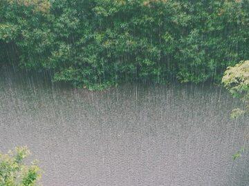 Pogoda. Opady deszczu
