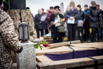 Pogrzeb - zdjęcie ilustracyjne