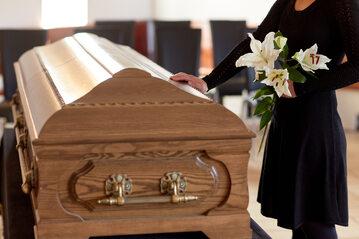 Pogrzeb, zdjęcie ilustracyjne