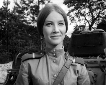 "Pola Raksa w serialu ""Czterej pancerni i pies"" (1966)"