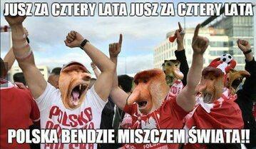 Polacy kończą występy na mundialu - mem