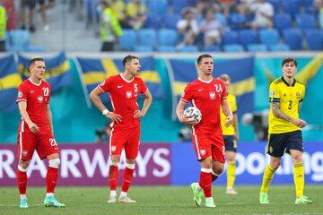 Polacy w meczu ze Szwecją