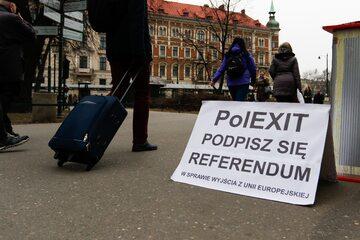 Polexit, zdjęcie ilustracyjne
