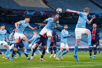 Półfinał Ligi Mistrzów, mecz Manchesteru City i PSG 4 maja