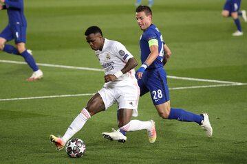 Półfinał Ligi Mistrzów, mecz Realu Madryt z Chelsea