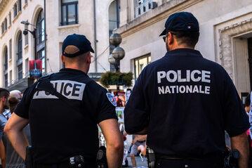 Policja francuska, zdjęcie ilustracyjne