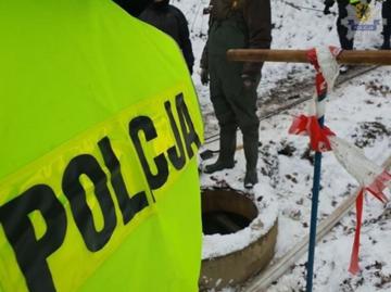 Policja nie informuje, w jakim dokładnie miejscu prowadzi poszukiwania