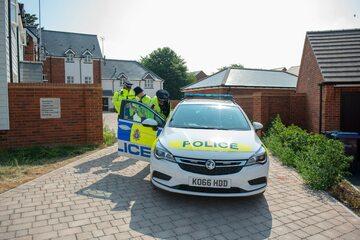 Policja przed domem pary, która zatruła się nowiczokiem