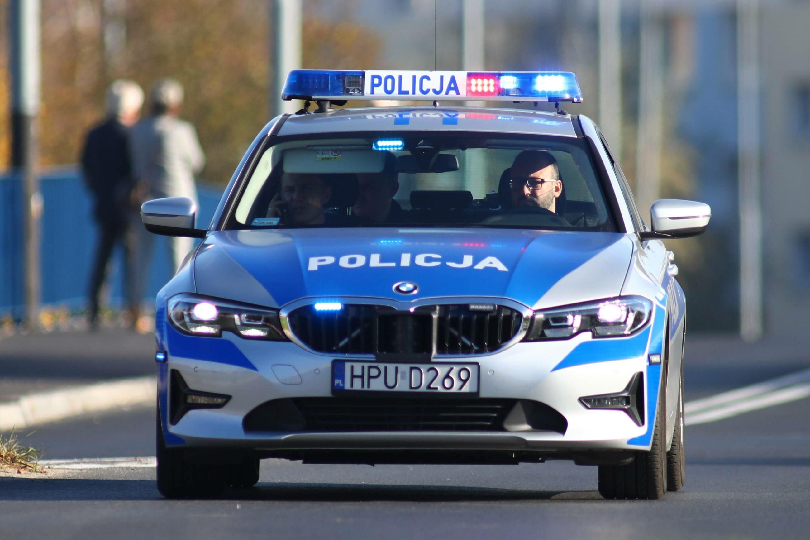 Policja, radiowóz (zdj. ilustracyjne)