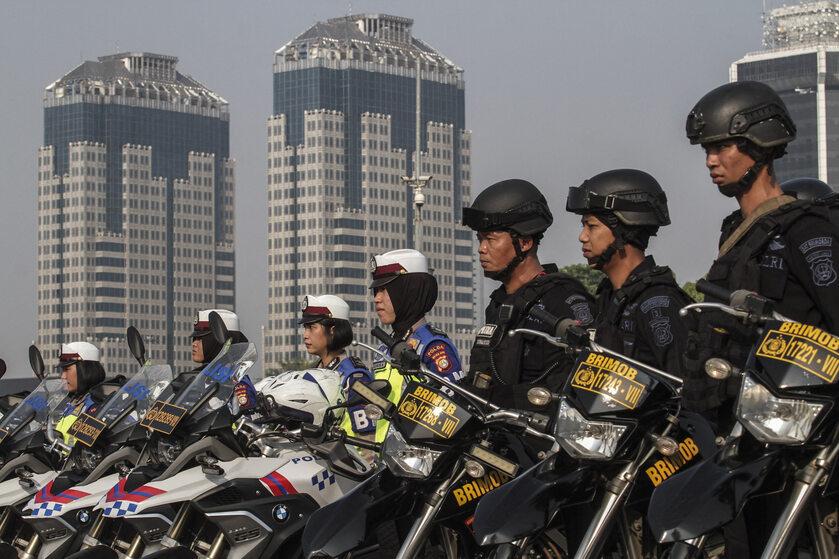 Policja w Indonezji