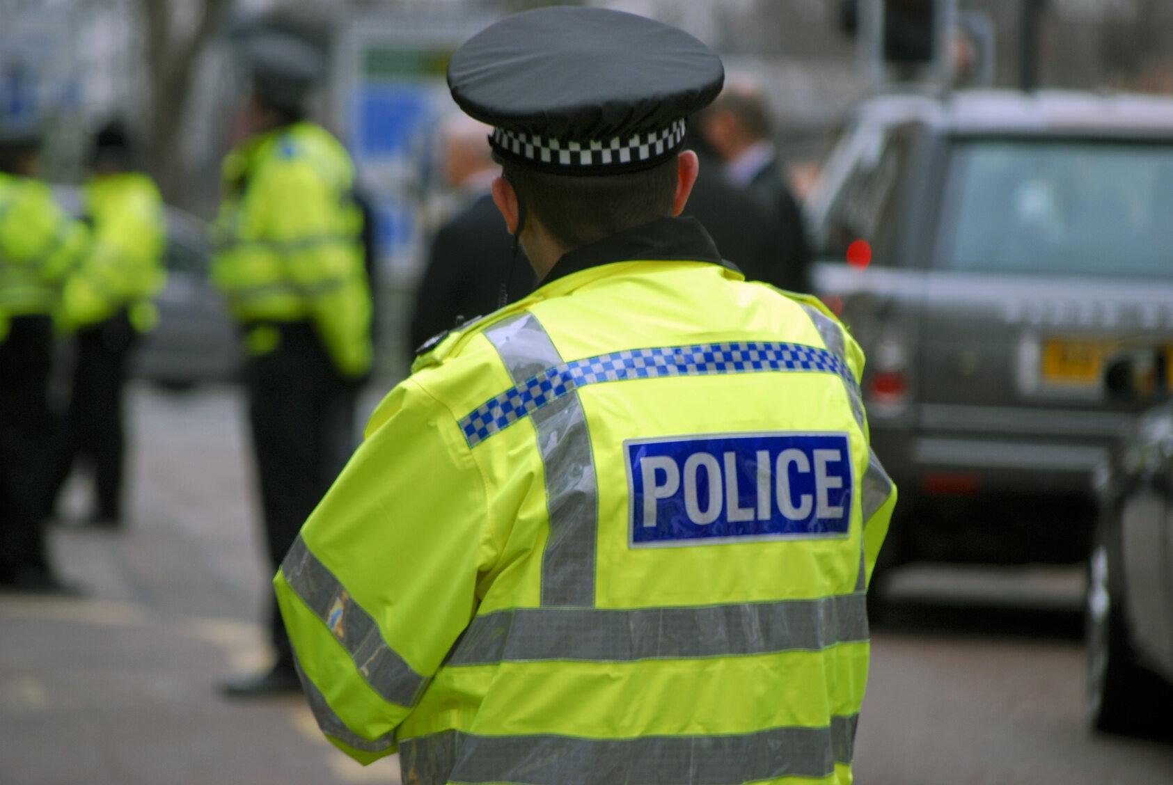 Policja, Wielka Brytania