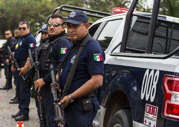 Policja z Meksyku