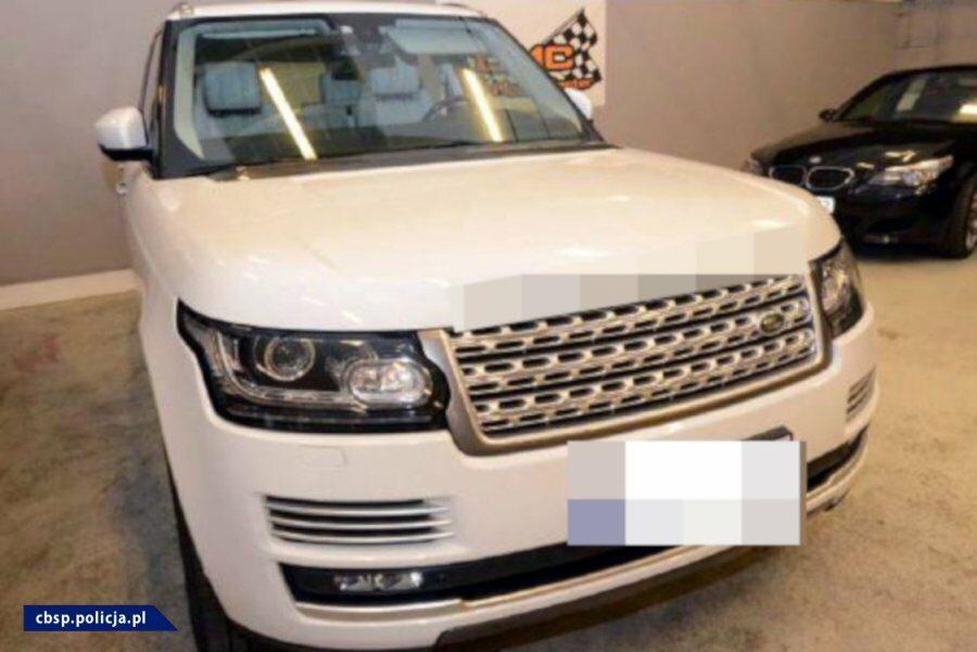 Policjanci CBŚP rozbili gang złodziei samochodów i odzyskali skradzione pojazdy
