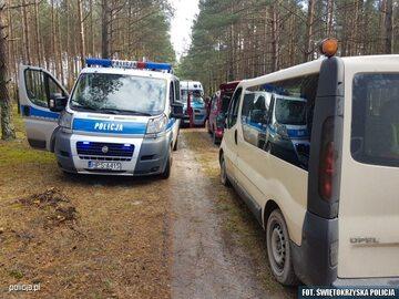 Policjanci nie dopuścili do ustawki w lesie