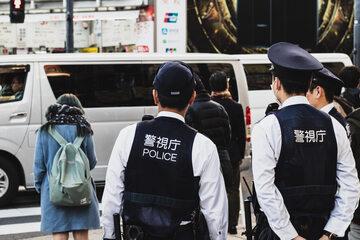 Policjanci w Chinach, zdjęcie ilustracyjne