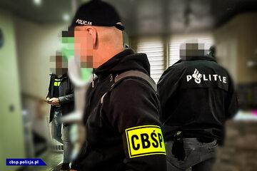 Policjant CBŚP w Holandii