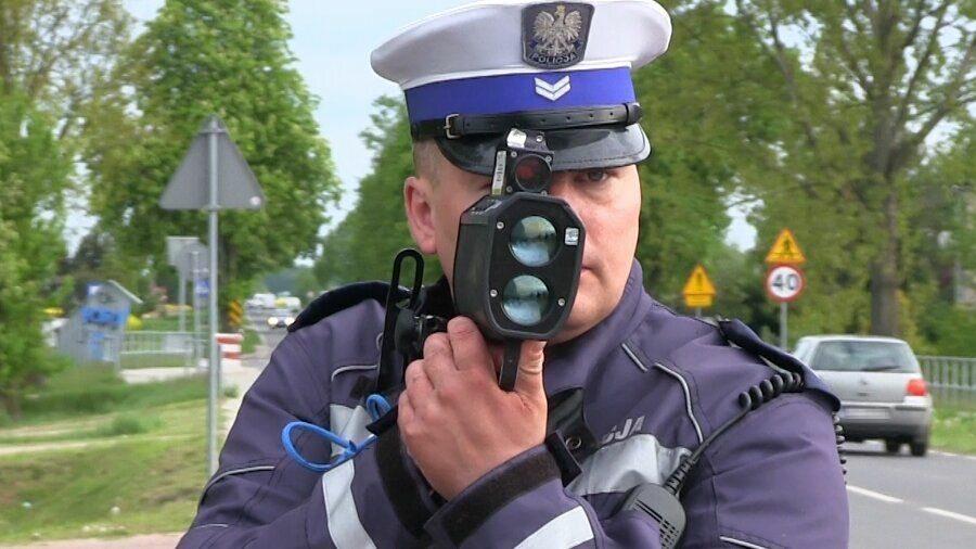Policyjna kontrola prędkości
