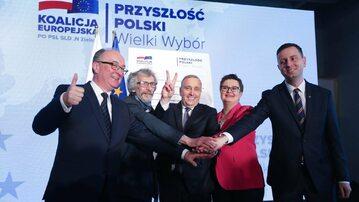 Politycy Koalicji Europejskiej