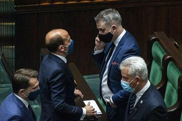 Politycy opozycji w Sejmie, zdj. ilustracyjne