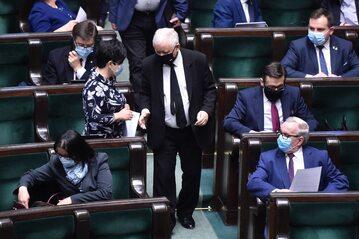 Politycy PiS w Sejmie
