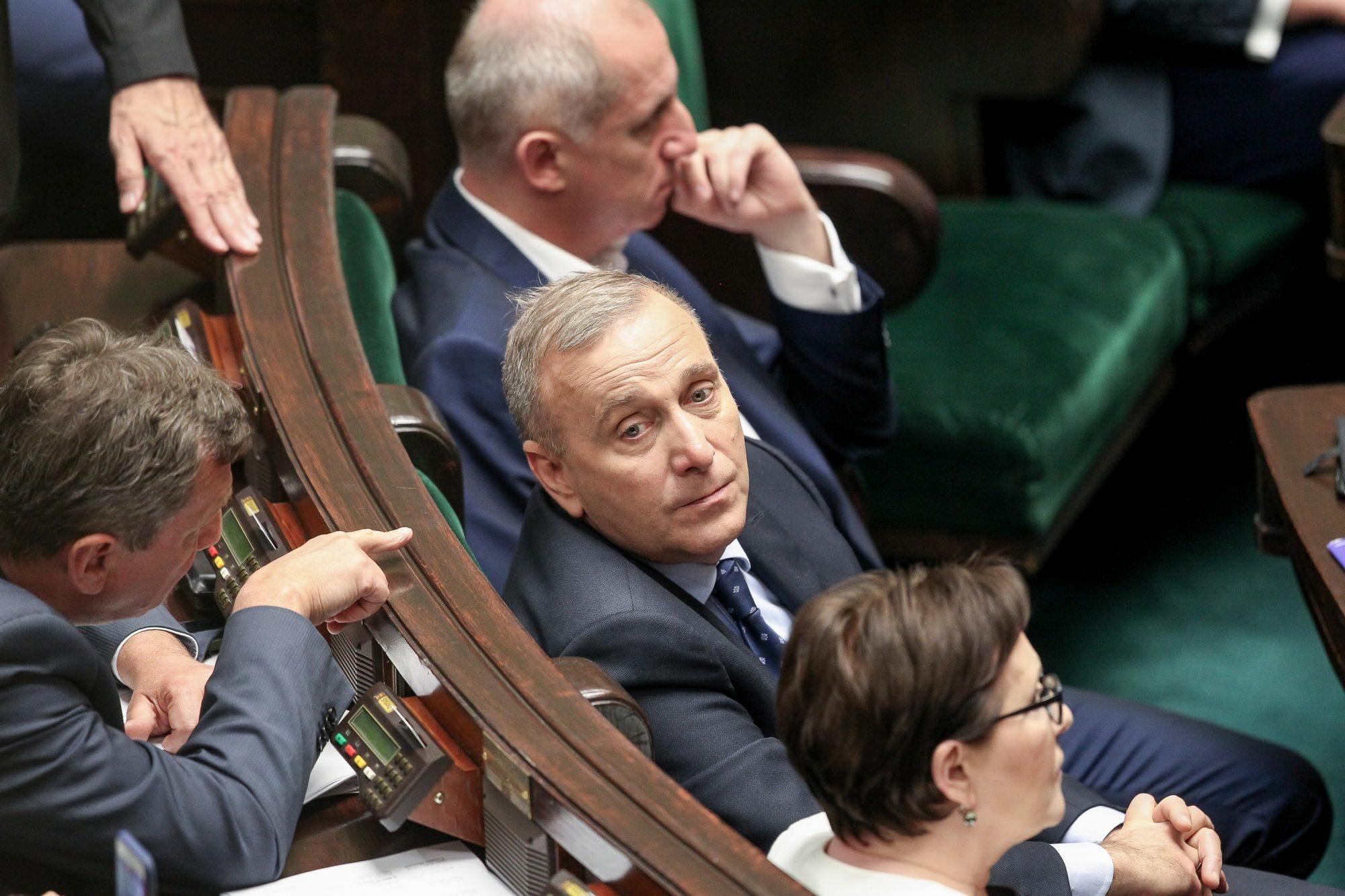 Politycy PO w trakcie informacji  w Sejmie ws. okoliczności śmierci Igora Stachowiaka