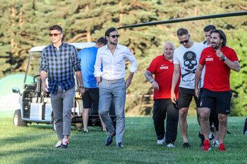 Polscy piłkarze dotarli do Arłamowa