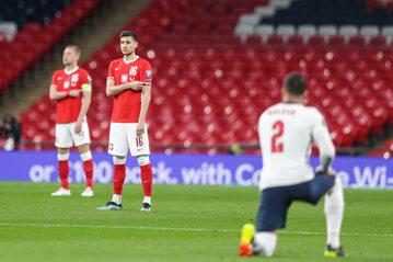 Polska nie zdecydowała się klęknąć przed meczem na Wembley