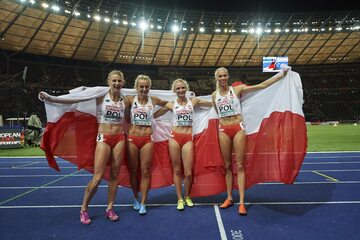 Polska sztafeta 4x400 metrów