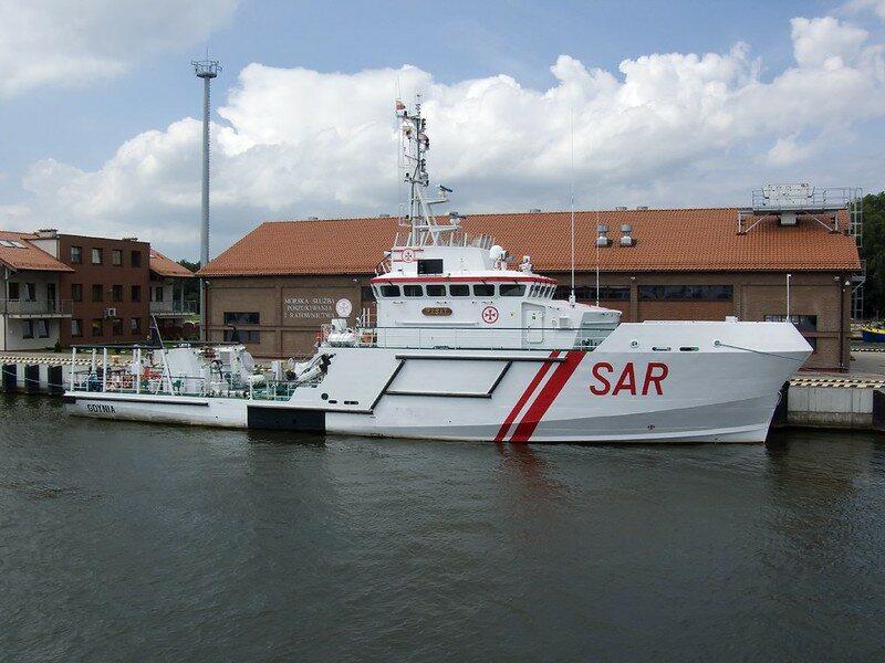 Polski okręt SAR (tu w Świnoujściu)