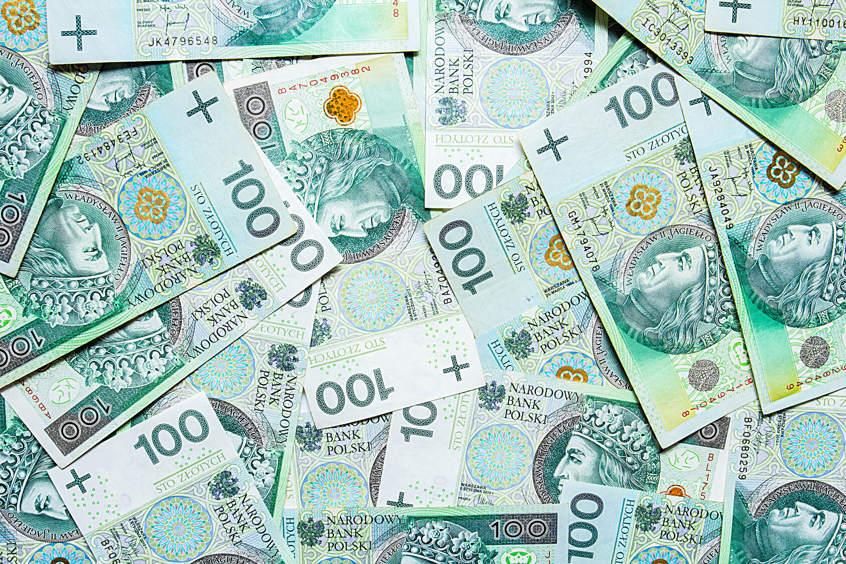 Polskie banknoty, zdjęcie ilustracyjne