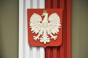 Polskie godło w Sejmie
