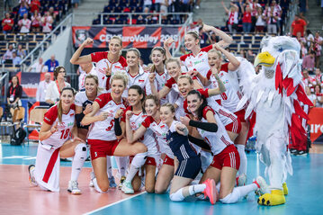 Polskie siatkarki po meczu z Hiszpanią