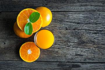 Pomarańcze i sok