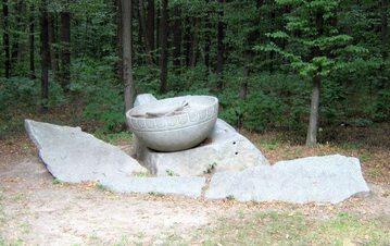 Pomnik bębna hajdamackiego w Chołodnym Jarze