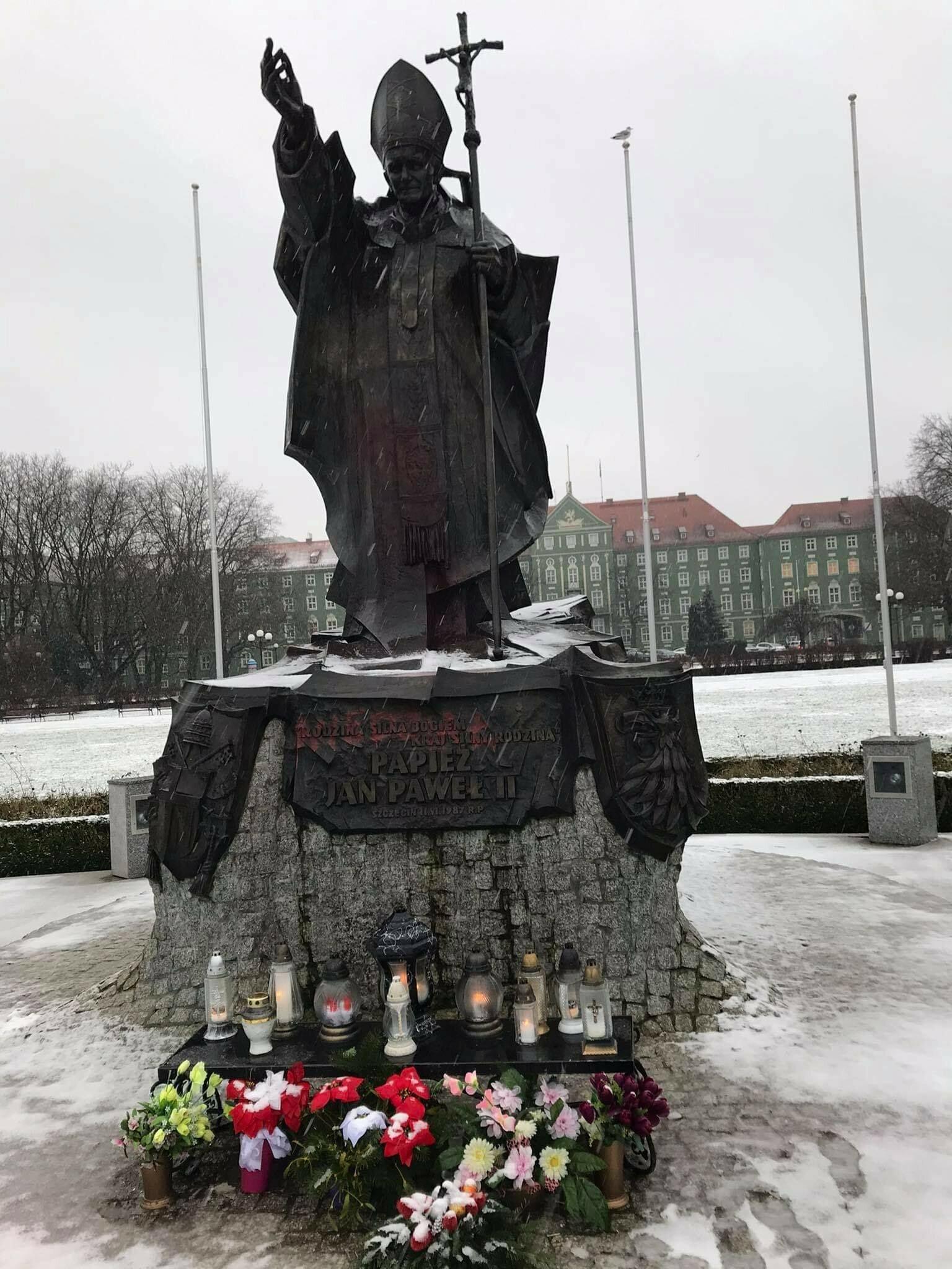 Pomnik Jana Pawła II w Szczecinie