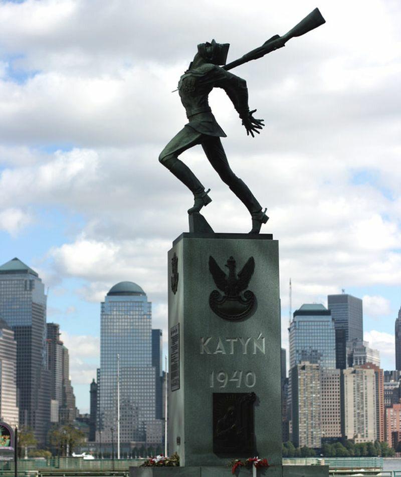 Pomnik Katyński, Jersey City
