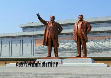 Pomnik Kim Ir Sena i Kim Dzong Ila