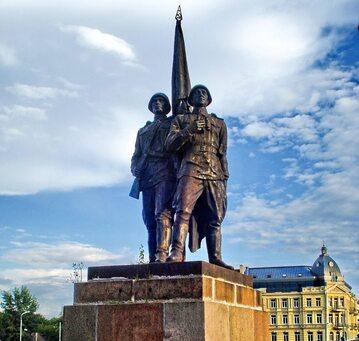 Pomnik żołnierza radzieckiego na Litwie