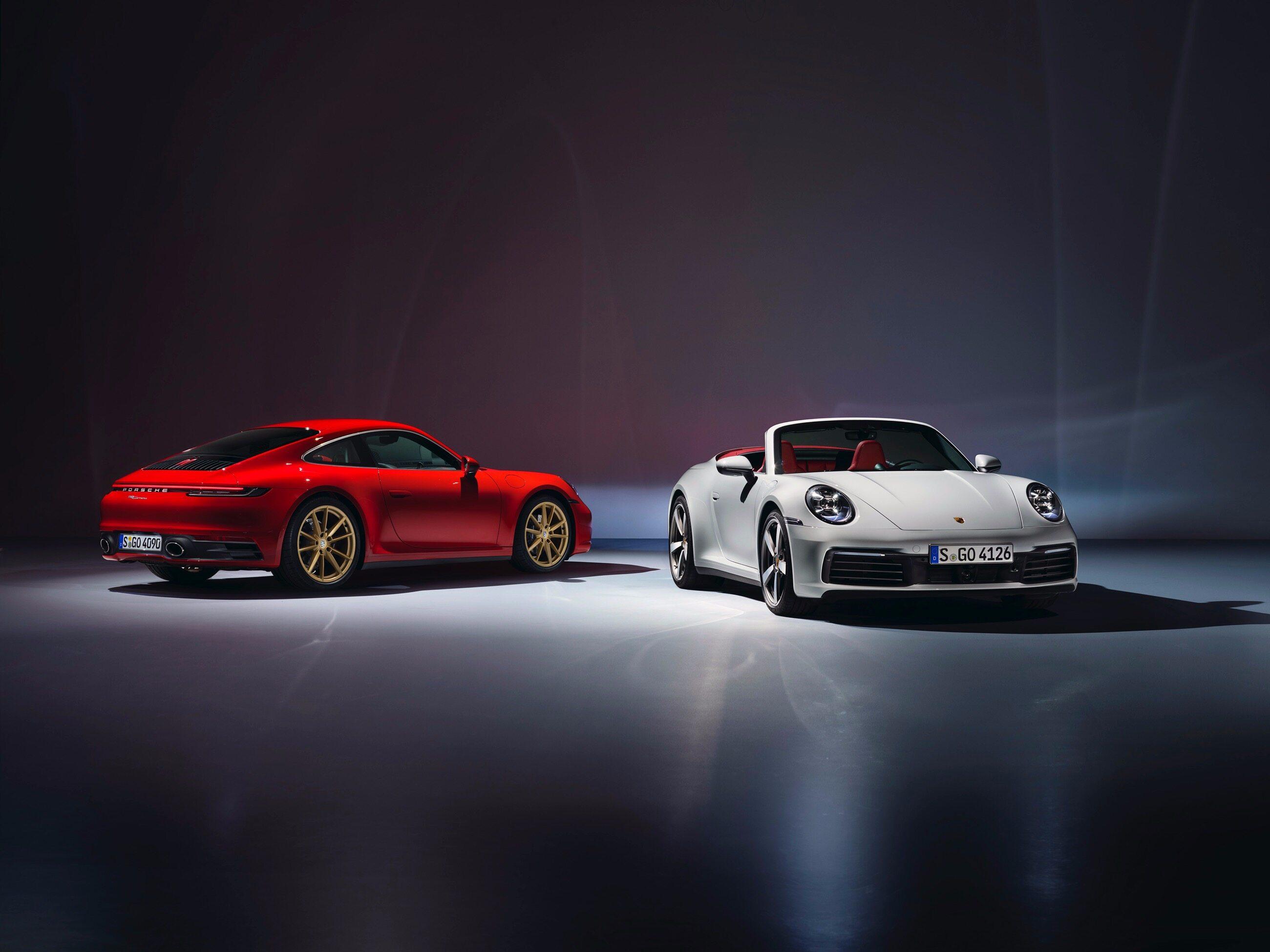 Porsche 911 Carrera Coupe i Porsche 911 Carrera Cabriolet