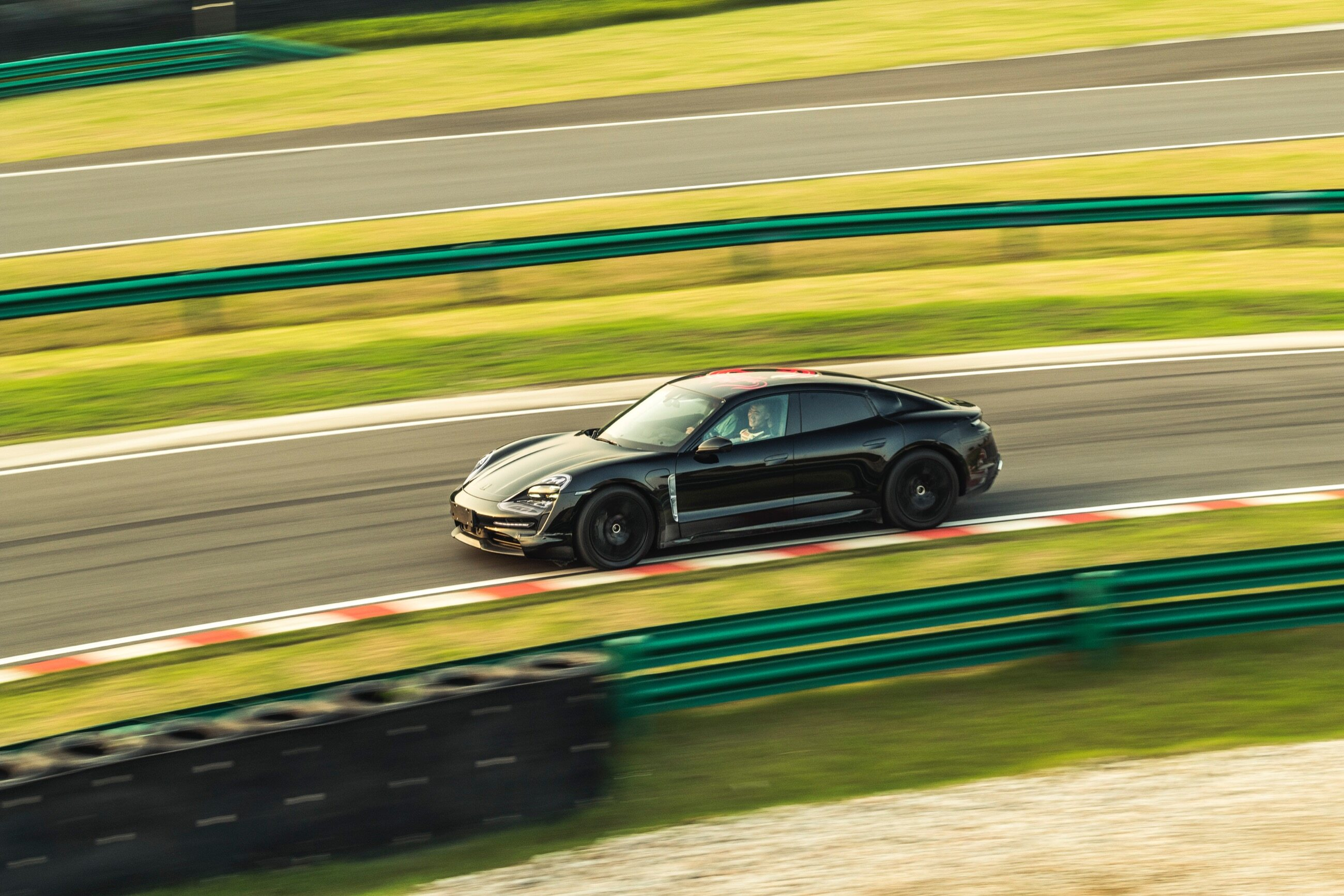 Porsche Taycan w Chinach