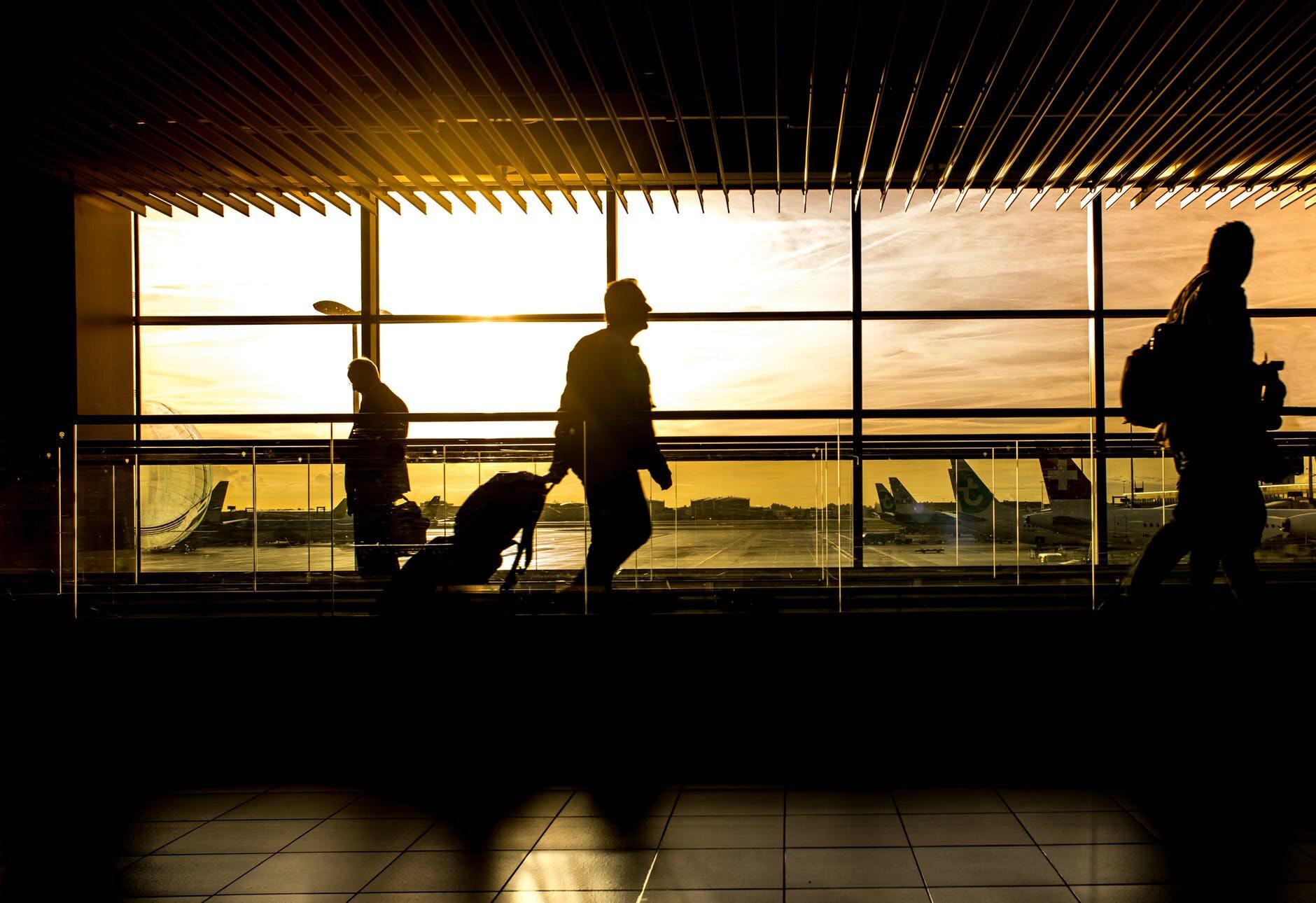 Port lotniczy, zdjęcie ilustracyjne