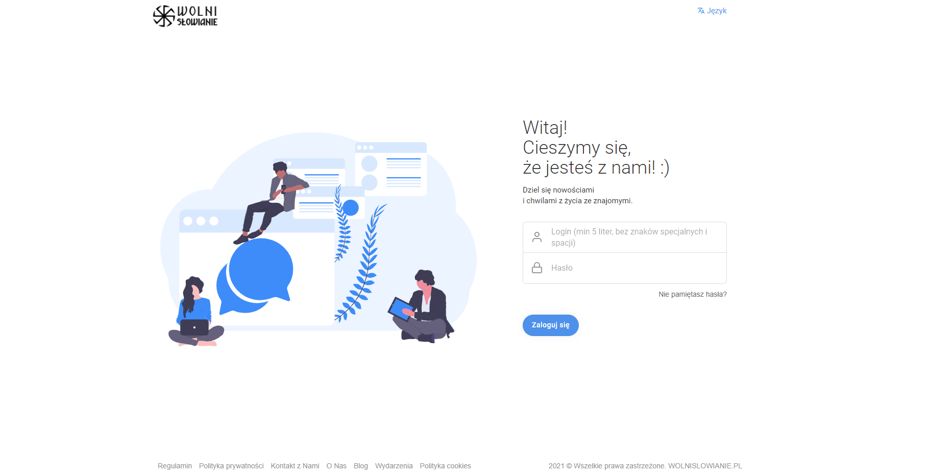 Portal wolnislowianie.pl