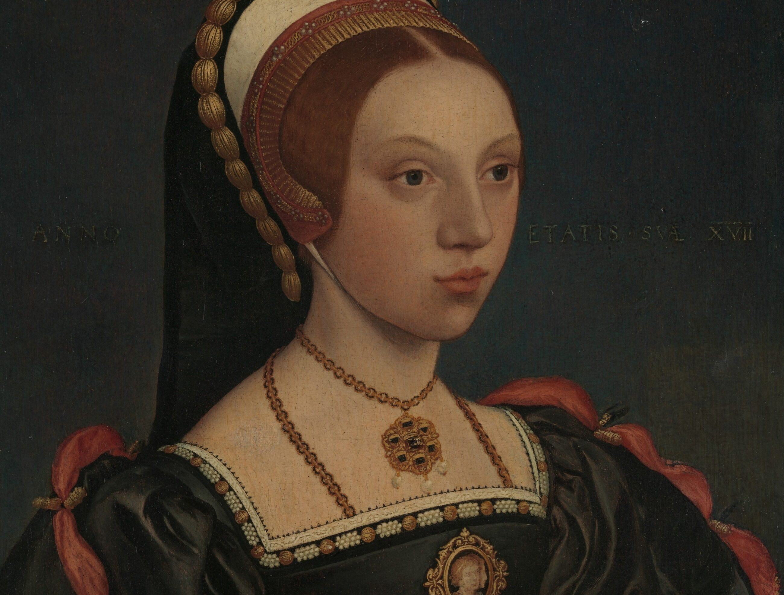 Portret Katarzyny Howard, piątej żony Henryka VIII