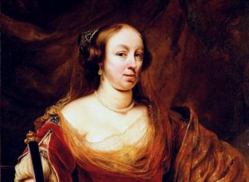 Portret Ludwiki Marii Gonzagi pędzla Ferdinanda Bola