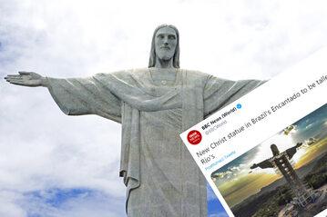 Posąg Jezusa